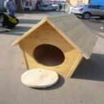 Собачья будка двухскатная
